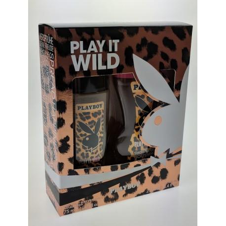 PLAYBOY-PLAY IT WILD(DNS 75ml+Spr.gel250ml)
