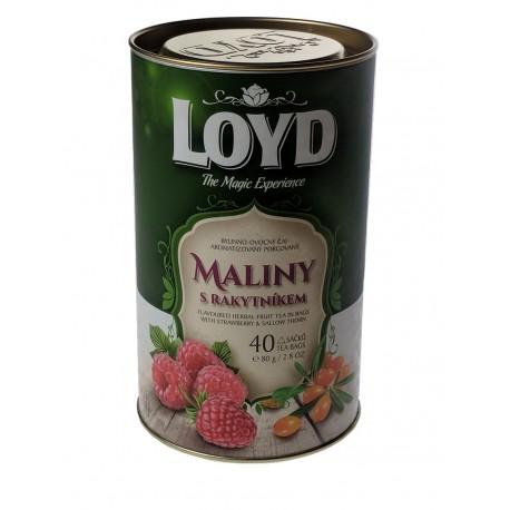 Loyd-Bylinno-Ovocný čaj-Maliny s Rakytníkem