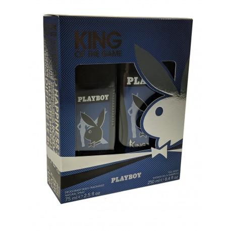 Playboy- -Deodorant body 75ml-Shower gel 250ml