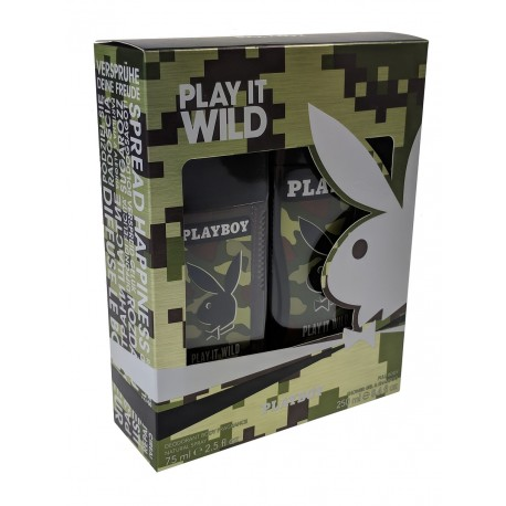 Playboy-Play it sexy -Deodorant body 75ml-Shower gel 250ml