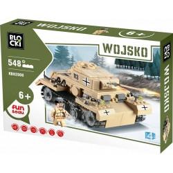 Německý tank PZKPFW-III WW2 548 dílů ICOM Blocki