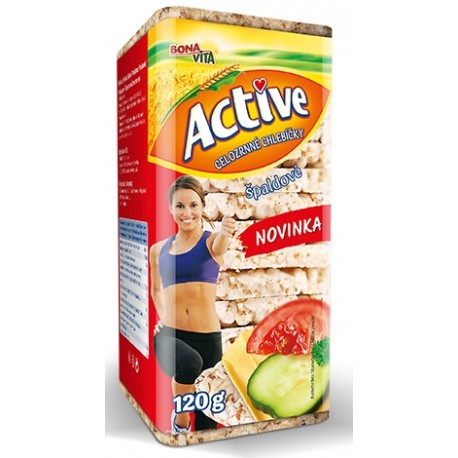 Bona Vita Active Celozrnné chlebíčky špaldové 120g