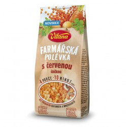 Vitana Farmářská polévka s červenou čočkou 117g